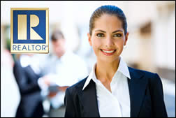 lady realtor logo